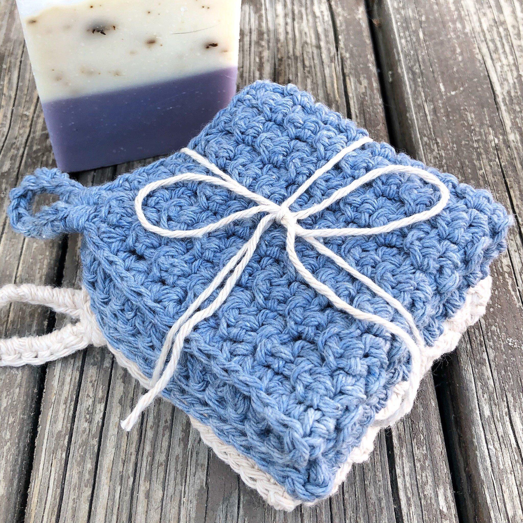 DIY Crochet Washcloths.