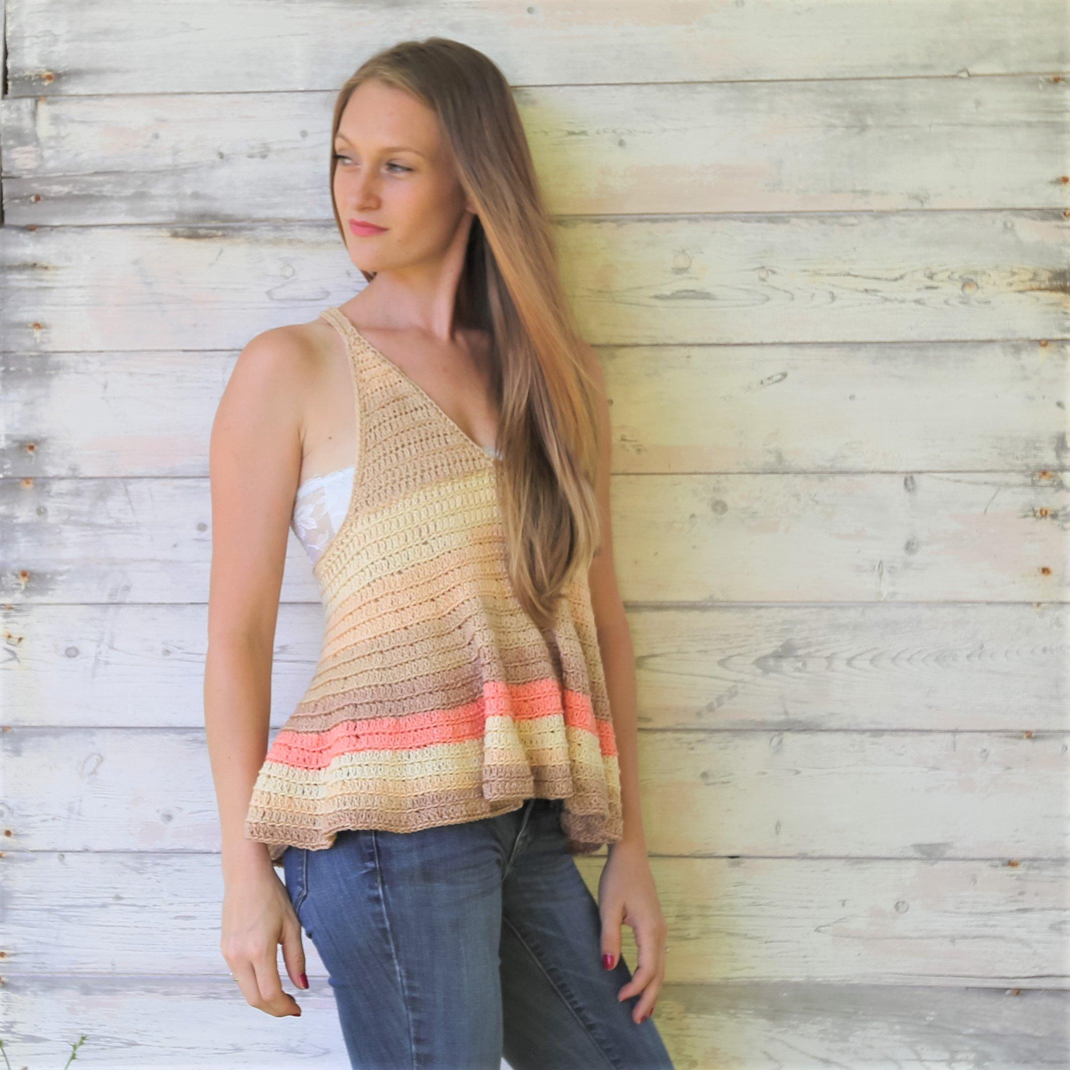 Free Summer Top Crochet Patterns