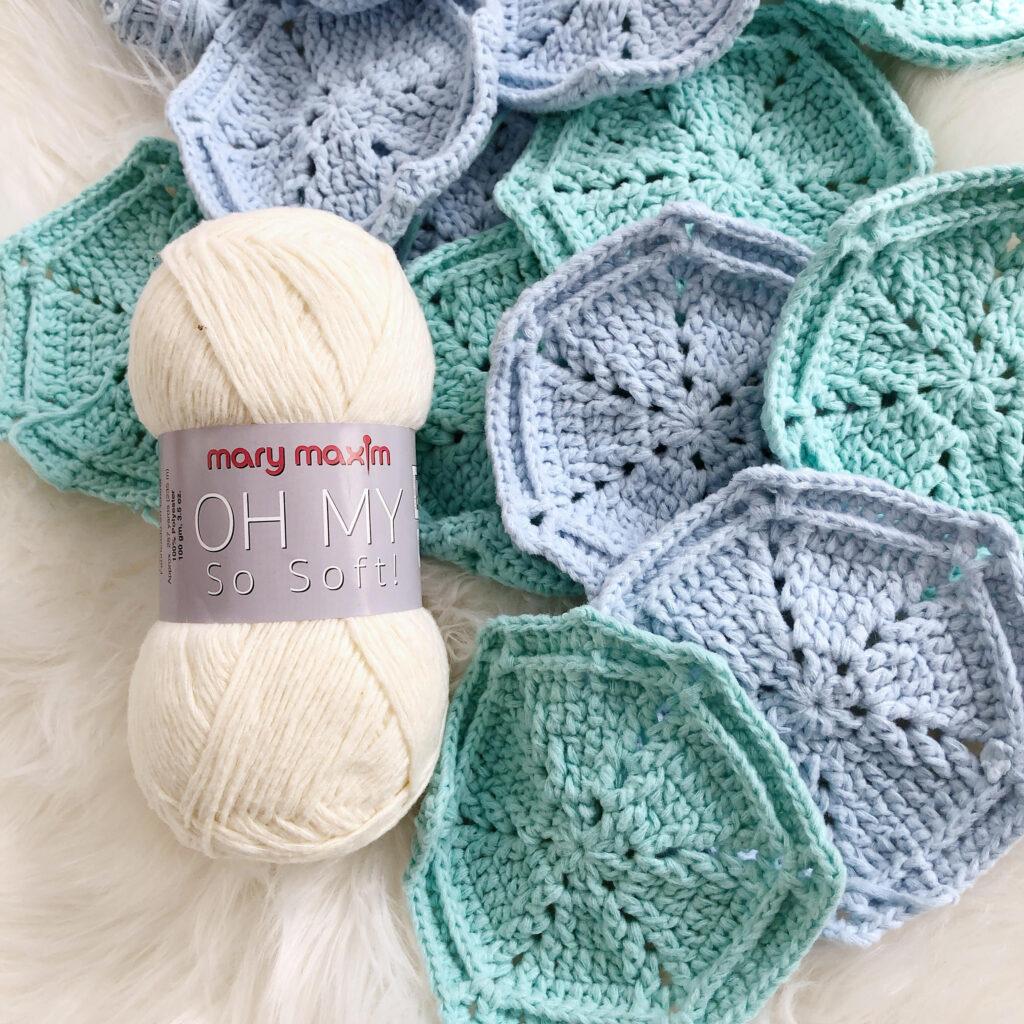 Padrão Crochet Hexi Grátis