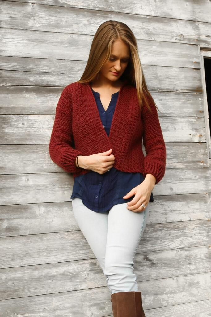 Women's Crochet Cardigan Pattern