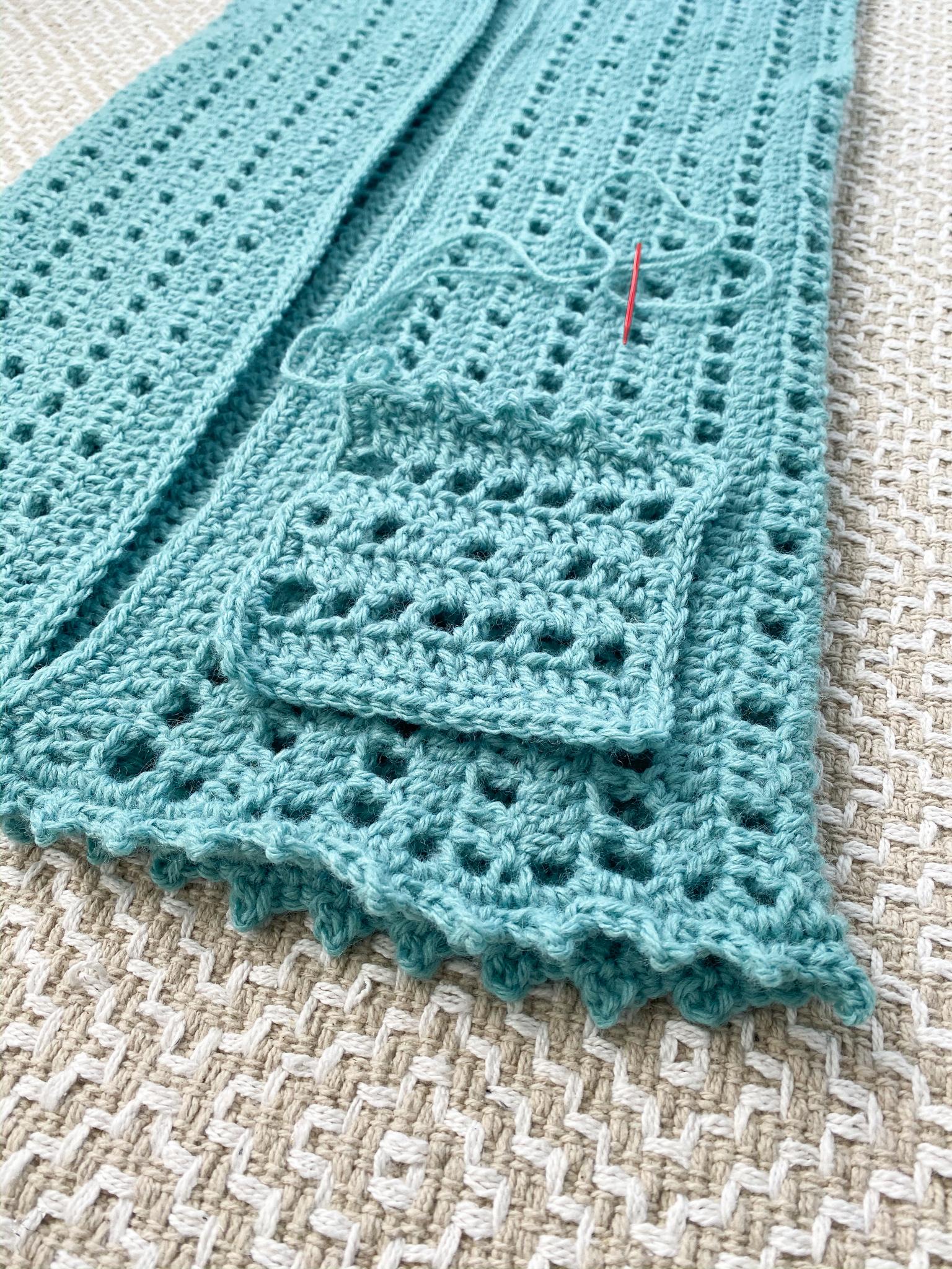 Free Crochet Hooded Vest Beginner Pattern Photo Tutorial Life And Yarn
