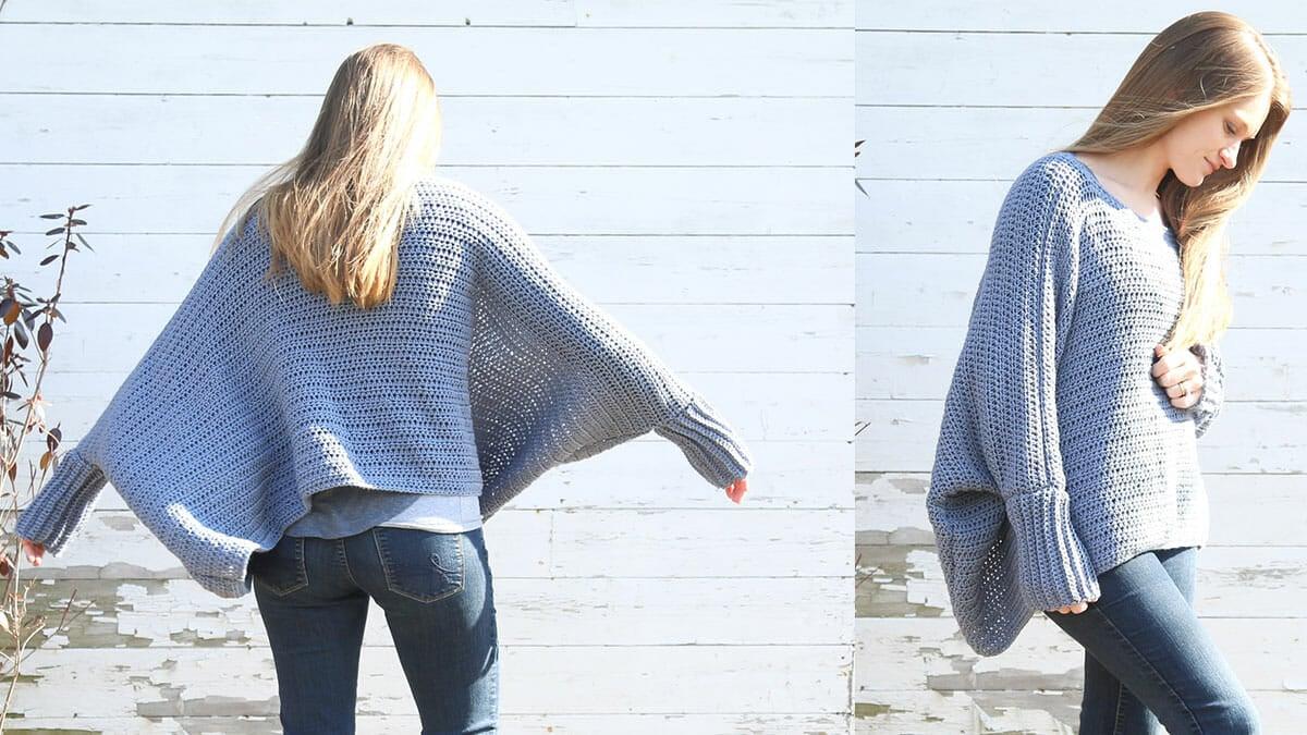 Oversized Crochet Sweater Pattern