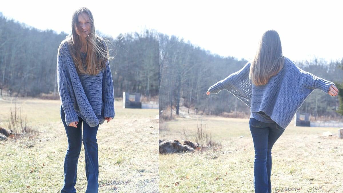 Fast Crochet Sweater