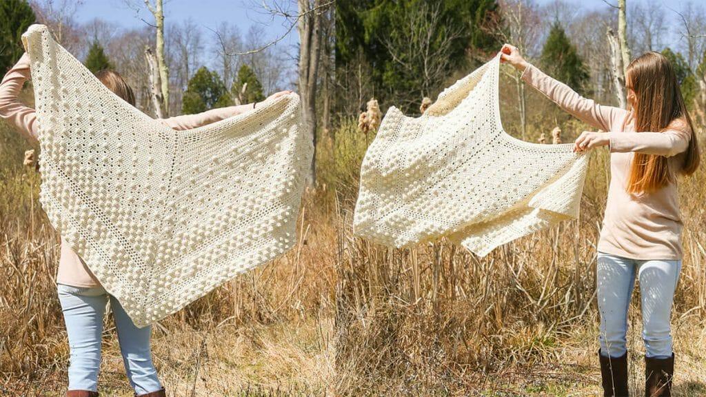 Modern crochet pattern