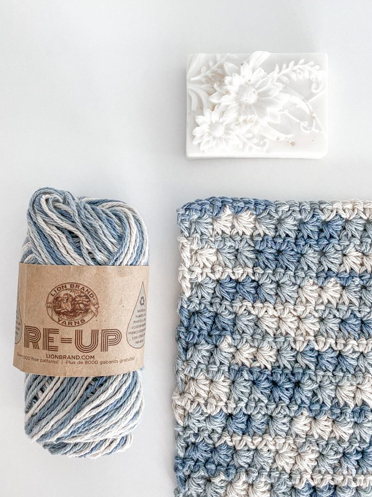 Crochet Dishcloth using the Star. Stitch!