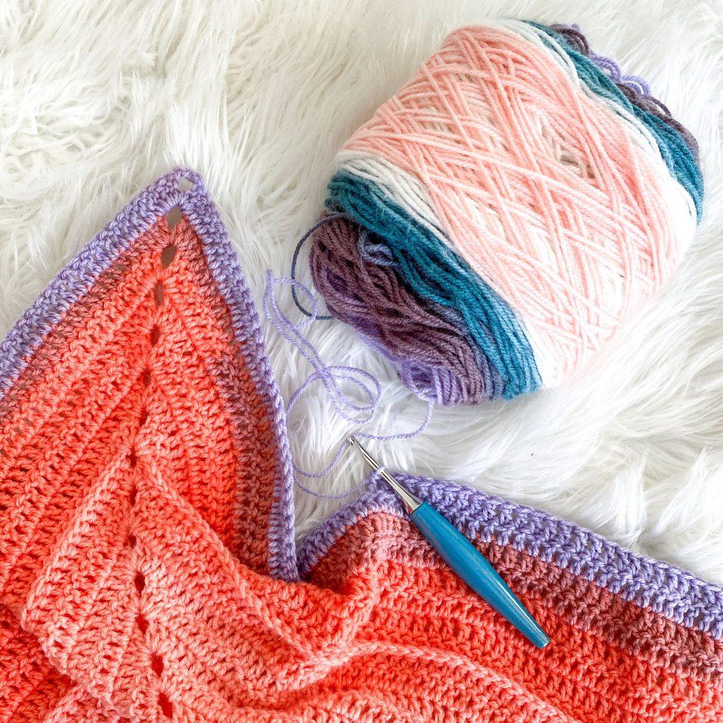 A beautiful self striping yarn pattern to make!