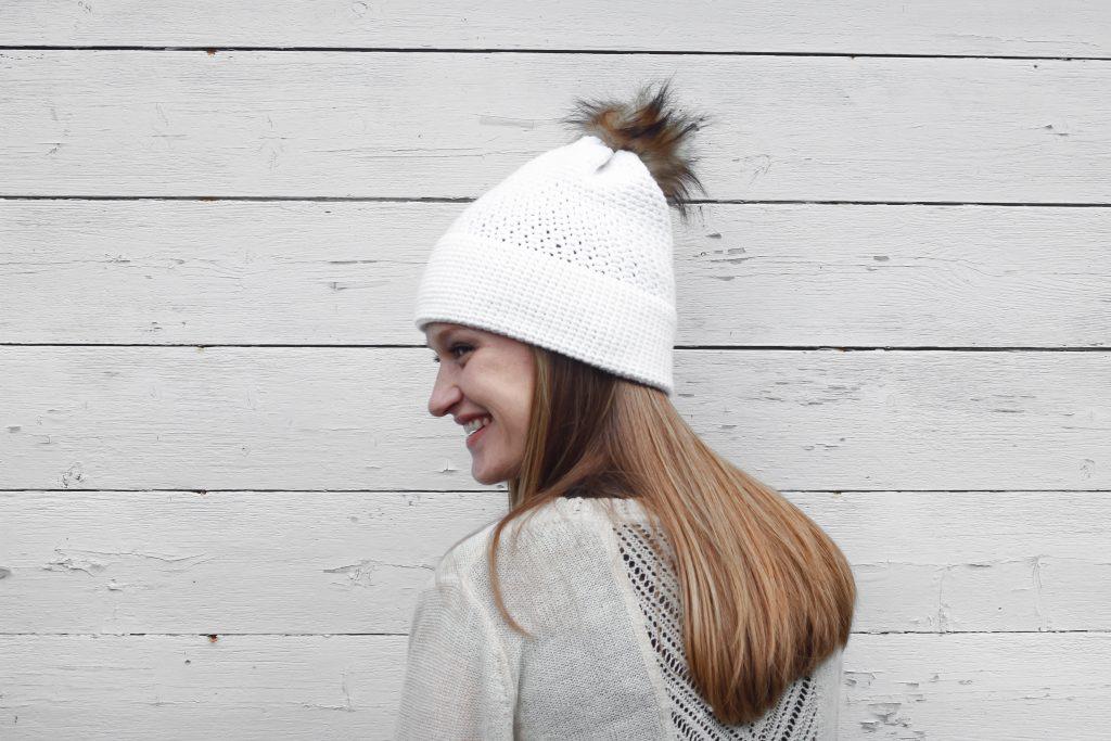 Crochet hat for women