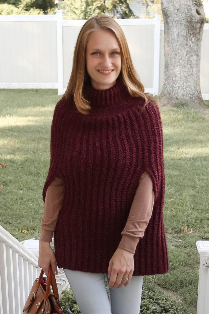 Free Crochet Poncho Pattern.