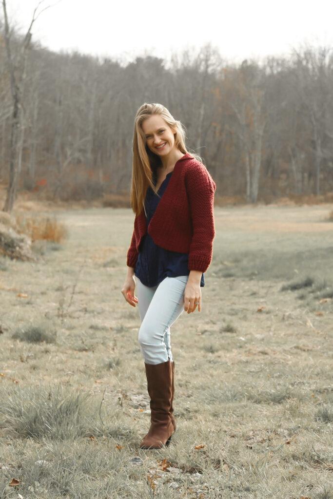 Cozy fall crochet sweater pattern!